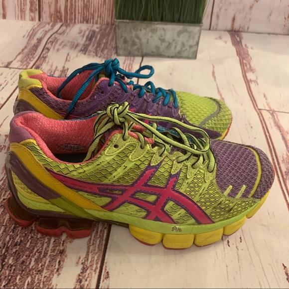 ASICS Gel Kinsei 4 athletic shoes running mosaic